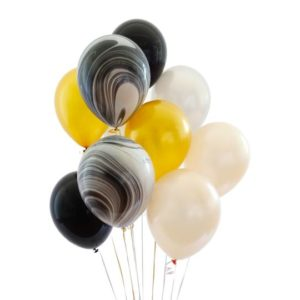 Funlah balloon bouquet black