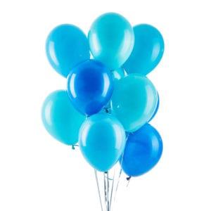 FUnlah balloon cluster bouquet Aqua