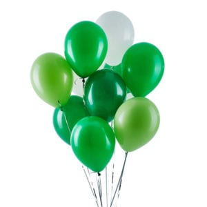 FUnlah balloon cluster bouquet Greenie