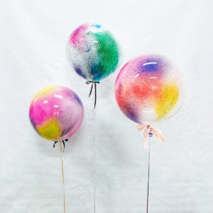 Funlah Colour Dye Hand Craft Bubble Balloons 4