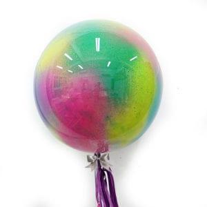 Funlah globe balloon wild rainbow 3