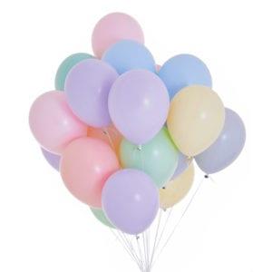 Funlah pastel balloon cluster 2