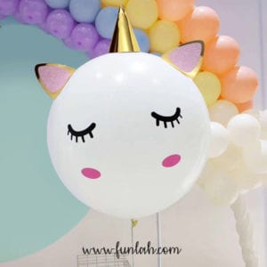 Funlah unicorn 24 inch balloon