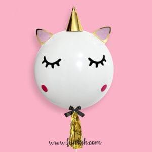 Funlah unicorn 24 inch helium balloon