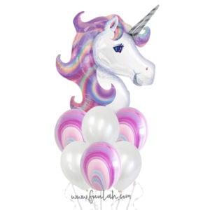 Funlah Magical Unicorn Balloon Bouquet 3
