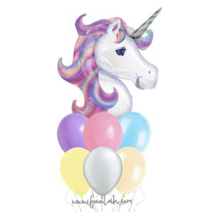 Funlah Magical Unicorn Balloon cluster Bouquet 2