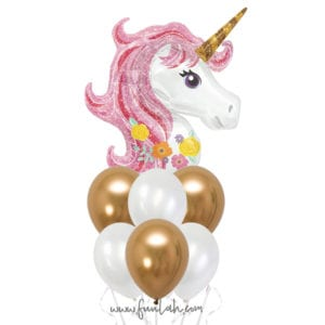 Funlah Princess Unicorn Balloon Bouquet 3
