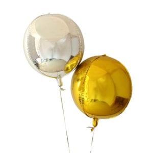 Funlah_Balloons_gold_silver_orbz_16inch