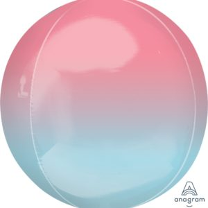 Pastel pink and blue orbz