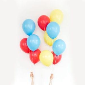 Funlah Circus balloon cluster 1