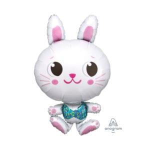 Funlah funny bunny foil balloon