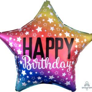 funlah.com -rainbow-star happy birthday balloons