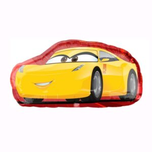 Cars Cruz Jackson Helium Foil Balloon
