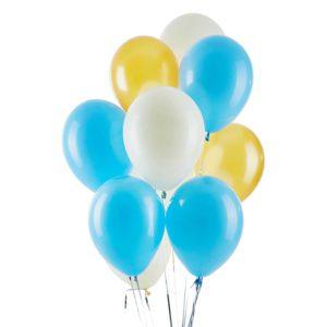Baby Boy Helium Balloon Bouquet