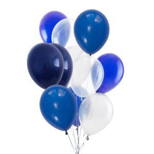 Blue Sonata Helium Balloon Bouquet