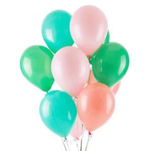 Pastel Cactus helium balloon bouquet