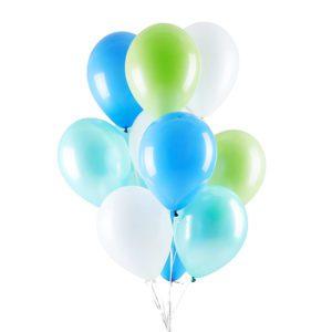 Peppermint Heilum Balloon Bouquet
