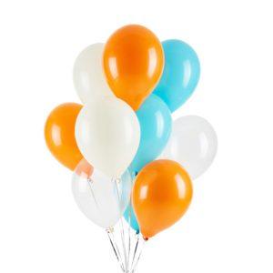 Tangerine Dreams Helium Balloon Bouquet
