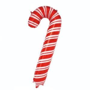 Christmas Candy Cane Foil Balloon