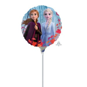 Frozen 2 balloon on stick