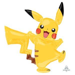 Pikachu Pokemon Airwalker Jumbo Life Size Balloon