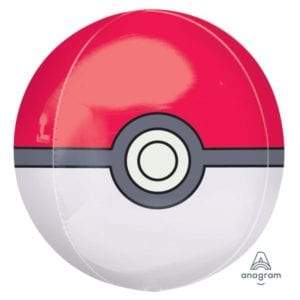 Pokemon Pokeball Orbz Balloon