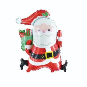 Santa Presents Foil Balloon