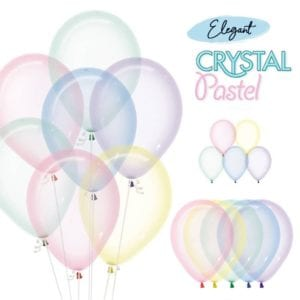 Sempertex Crystal Pastel Balloon