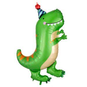 Dinomite Dinosaur T-Rex Balloon Bouquet