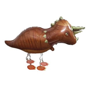 Triceratop Dinosaur Walking Animal Balloon