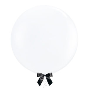 36 inch Jumbo latex balloon clear