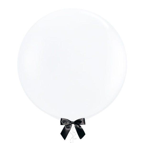 36 inch Jumbo latex balloon clear