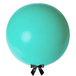 36 inch jumbo balloon turquoise