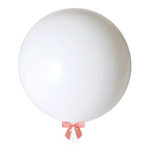 36 inch jumbo balloon white