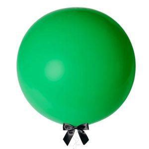 36 inch jumbo helium balloon green
