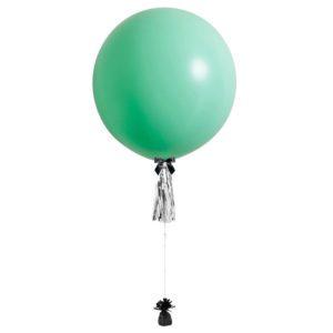36 inch jumbo balloon pastel green