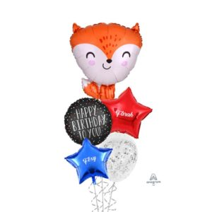 Foxy Fox Balloon bouquet