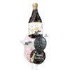 Bubbly confetti Fabulous wine balloon bouquet