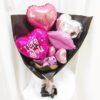 Pink Kisses Balloon Hand Bouquet