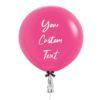 24 inch Customize Fuchsia Jumbo Balloon